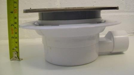 Shallow Shower Gully Trap For Tiled Or Stone Floor